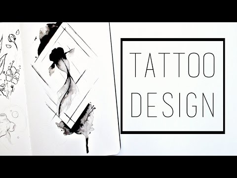 Designing a Tattoo · 30 Ways to Fill a Sketchbook · SemiSkimmedMin