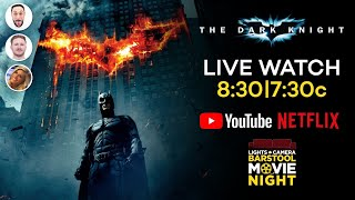 Barstool Movie Night: The Dark Knight (Netflix)