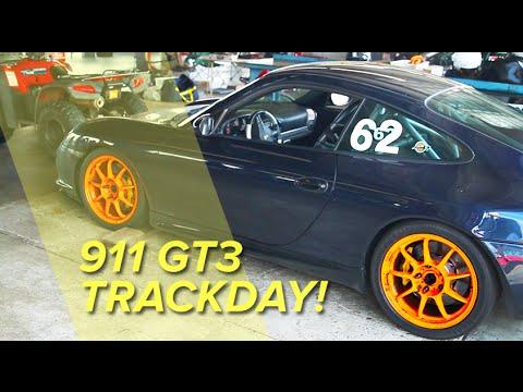My insane ride in a Porsche 996 GT3 track car!