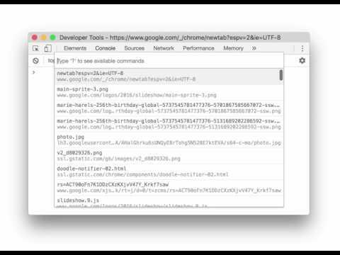 Run Snippet From Command Menu (Chrome 60)