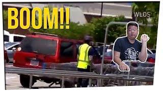 Pregnant Woman Runs Over Purse Thief! ft. DavidSoComedy