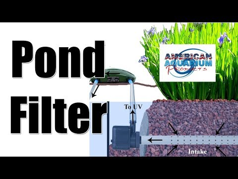 How To Build- Watergardens Veggie Pond Filter | Wetland Filter