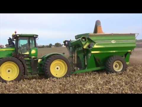 2016 Corn Harvest -  Greenville Ohio & Winchester Indiana