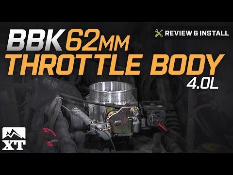 Jeep Wrangler (4.0L) BBK 62mm Throttle Body (1991-2003 YJ & TJ) Review & Install