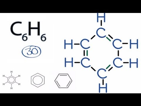 C6H6 Lewis Structure: How to Draw the Lewis Structure for C6H6 (Benzene)