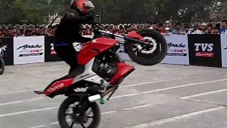 Apache Rtr 160 4v Stunt Modification - RS FAHIM CHOWDHURY