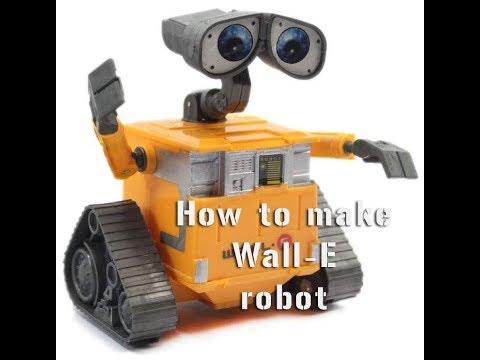 how to make wall-e robot.