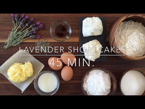 Lavender Cupcakes With Sweet Chèvre Frosting Recipe