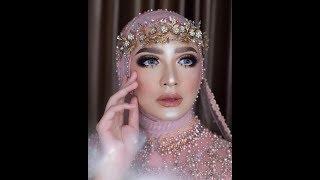 Tutorial Hijab Wedding Tren 2018 Simple
