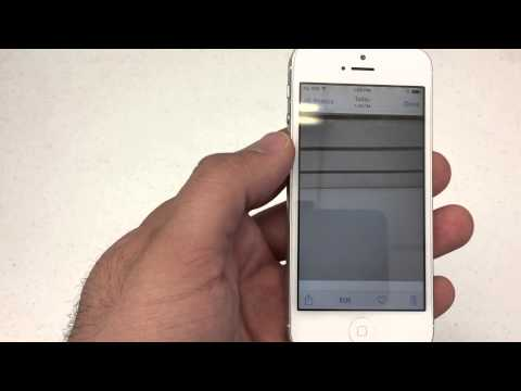How to Change the wallpaper and lock Screen on an Apple iPhone 5 or 6!