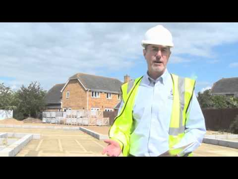 Self build a Potton Barn update 1 - Laying the foundations for the timber frame house