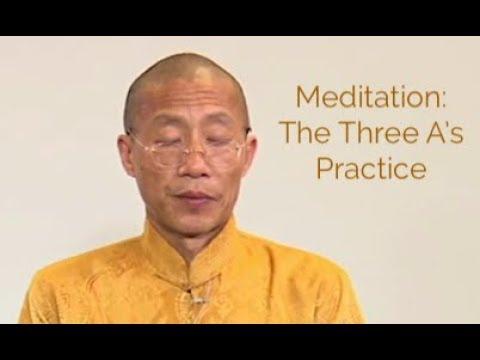 Meditation: Acceptance, Activation, Appreciation: Three A's Practice: