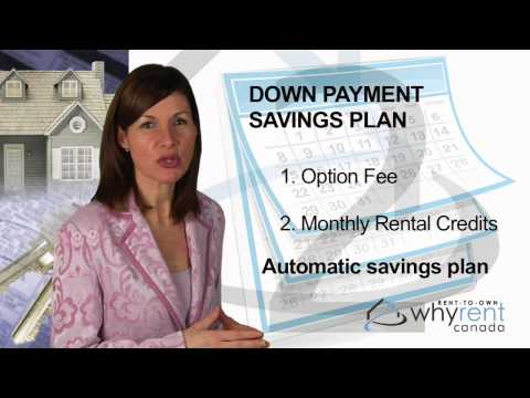 Why Rent Canada Down Payment Savings Plan