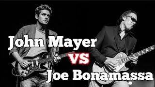 John Mayer vs Joe Bonamassa