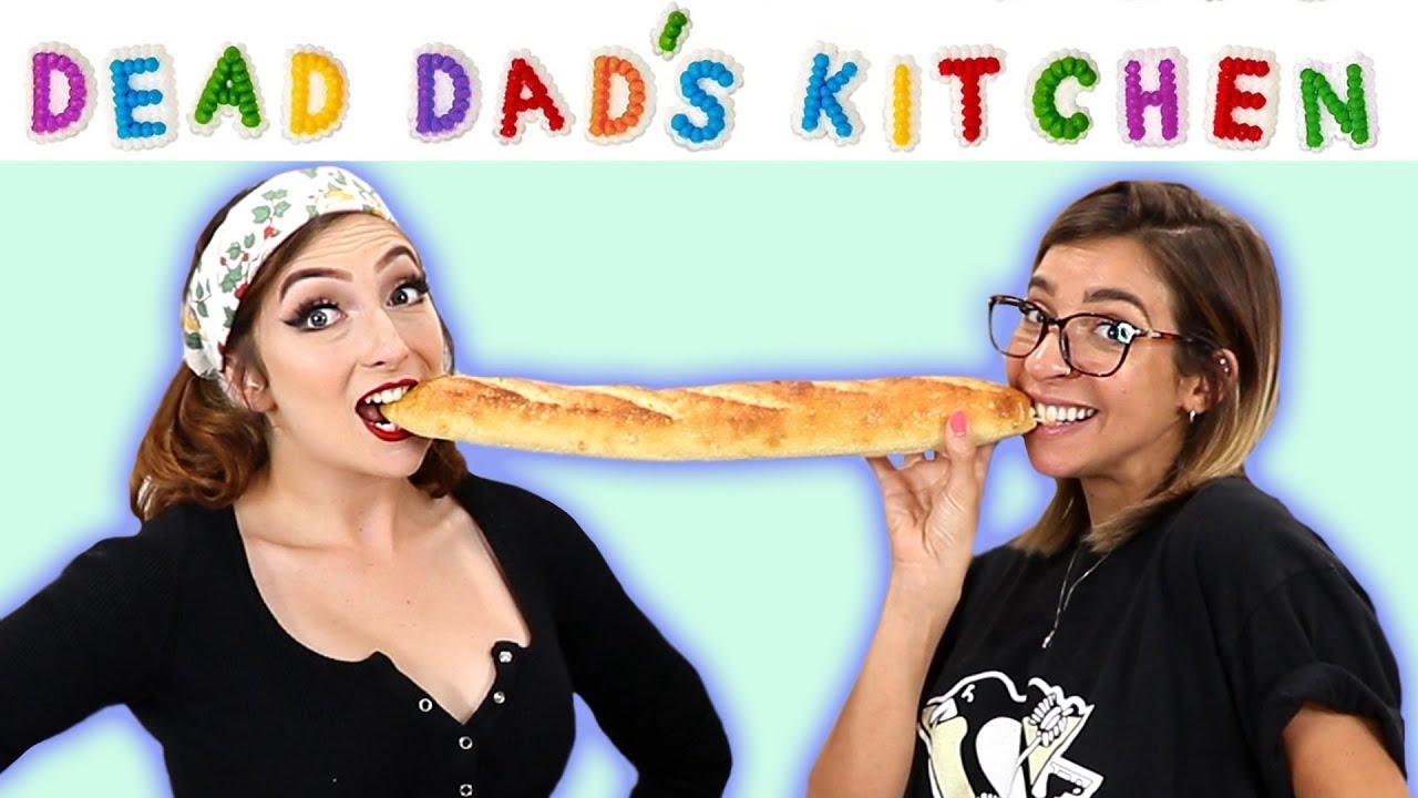 Dead Dad's Kitchen | Italian Sandwiches w/ Gabbie Hanna!!