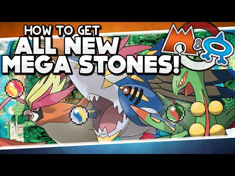 Pokémon Omega Ruby and Alpha Sapphire - All New Mega Stone Locations Guide!