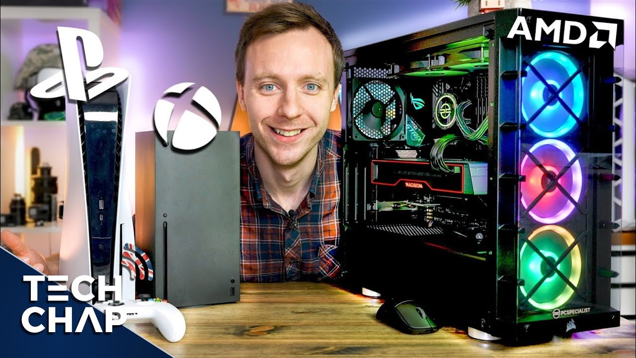 PS5 vs Xbox Series X vs Gaming PC - Which is Best? | The Tech Chap