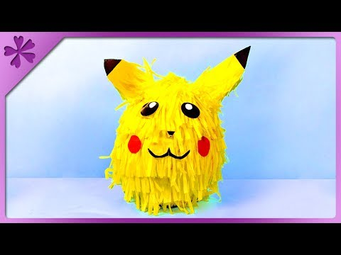 DIY Piñata for birthday, Children's Day (ENG Subtitles) - Speed up #358