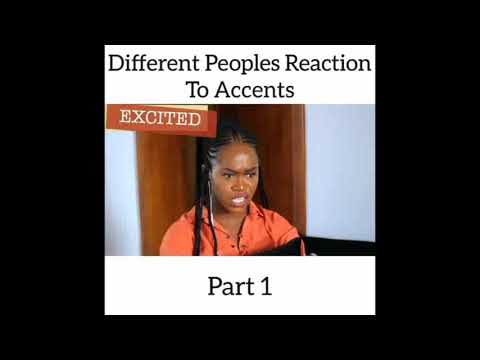 Skit : Maraji - Different Peoples Reaction to Accents