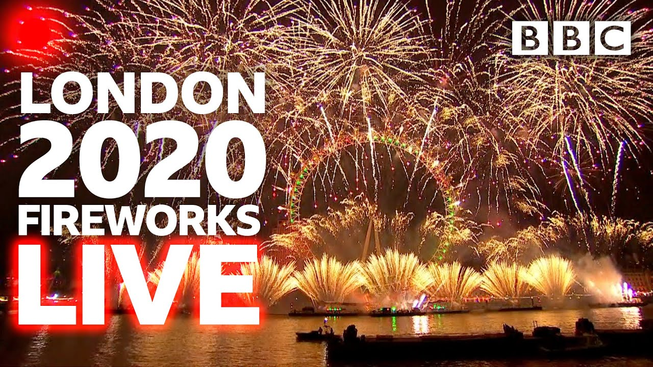 London 2020 fireworks streaming live 🔴 - BBC