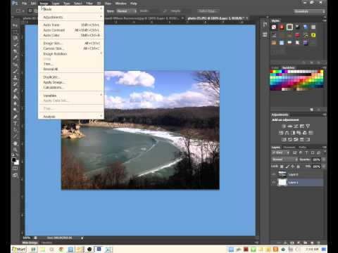 How to Increase Canvas Size in Photoshop CS6