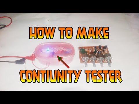 How to make continuity tester - Homemade!