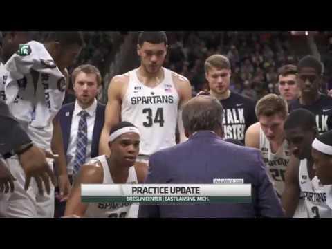 Practice Update: MSU Men's Basketball Talks Prep for Michigan