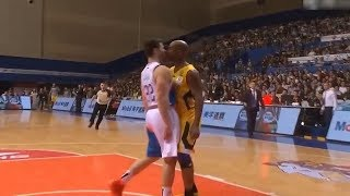 Stephon Marbury fight with Jimmer Fredette in China Basketball | Basketball Fight
