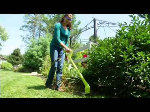Sun Joe Electric Lightweight Grass and Weed Trimmer on QVC