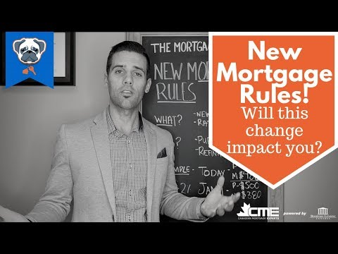 New Canadian Mortgage Rules Oct 2017 - Buying a Home Refinancing and renewing your mortgage now!