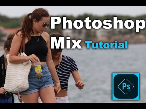 How to Edit Picture with Photoshop Mix on IOS devices 2016 IPhone , IPad