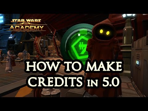 How to Earn Credits in SWTOR (5.0) - The Academy