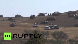 Turkey: Will Turkey use these tanks to help save Kobane from IS?