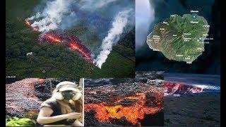 Hawáii se rompe. Cuenta atrás para gran erupción.