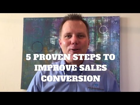 5 Proven Steps to Improve Sales Conversions