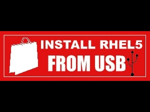 Learn how to Install Linux(Redhat/CentOS) OS from a USB stick/disk.