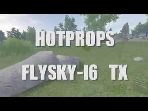 Hotprops simulator with Flysky TGY i6