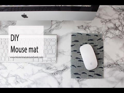 Make your own mouse mat