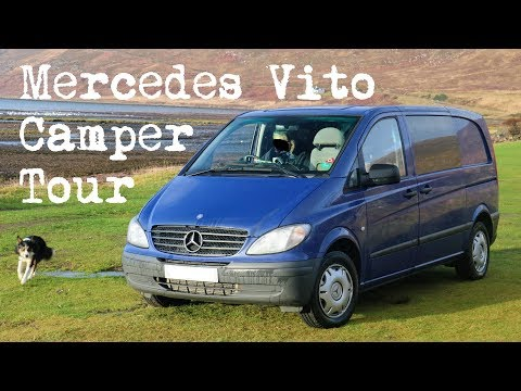 Mercedes Vito Camper Van Conversion Tour | The Carpenter's Daughter