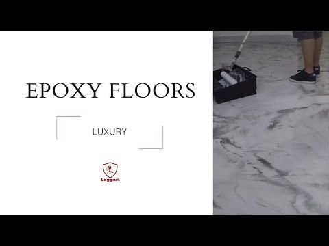 Luxury Epoxy Flooring over Wood Subfloor