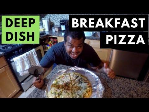 Meal Prep: Deep Dish Breakfast Pizza
