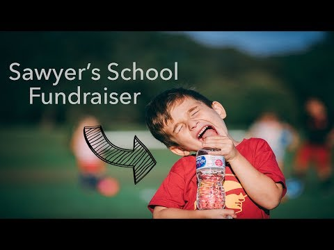 Sawyer is trying to raise money for school...and a hoverboard (LOL)
