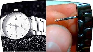 Как укоротить стальной браслет от часов