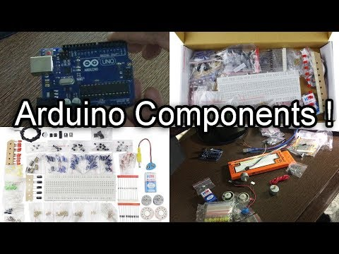 [HINDI] Basic Electronic Components as A Beginner That Will  Help You Make Arduino Projects Easily!