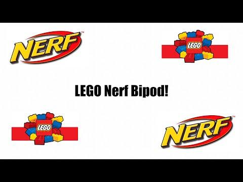 LEGO Nerf Bipod Tutorial
