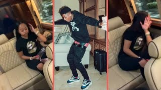 "NBA YoungBoy Back With His Girlfriend ""Yung Blasian"" Jonai After They Broke Up + YB Falls Off Stage"