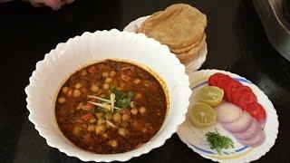 Chole Masala Recipe - English Subtitles | Chana Masala | Pressure Cooker Panjabi Chole