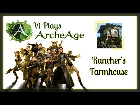 ARCHEAGE Game Play & Tutorial - Guide - 24x24 RANCHER'S FARMHOUSE