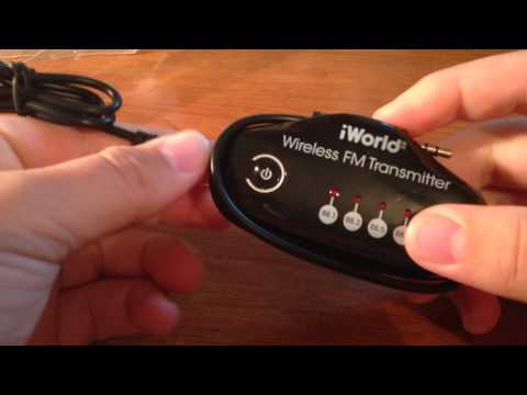 iWorld Wireless FM Transmitter Unboxing and How To Use