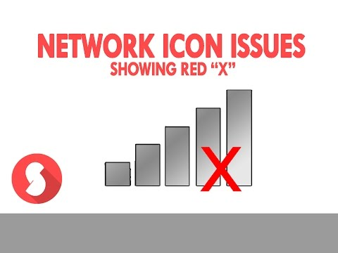 FIXED | Network icon WIFI issues | red